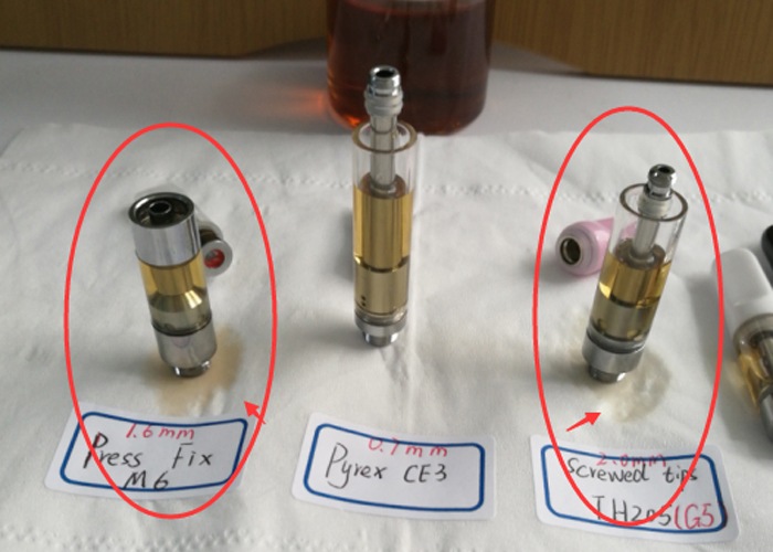 Why does the CBD cartridges leaking oil and how to avoid it