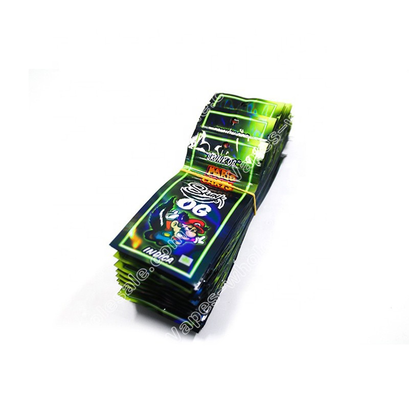 Newest Holograms Mario Carts Holographic Printing Packaging