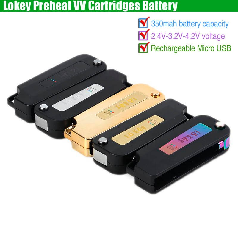 Heavy Hitters 510 Thread Voltage Variable Battery for CBD
