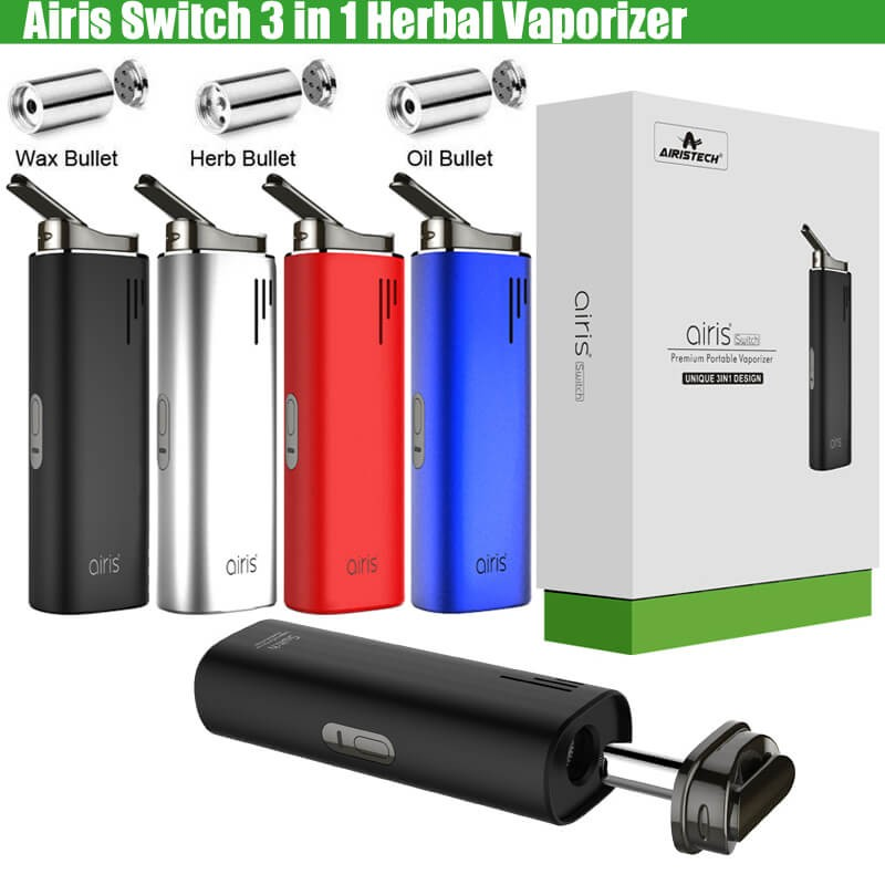 Authentic Airis Switch 3in1 Airistech Dry Herb Concentrate Wax CBD