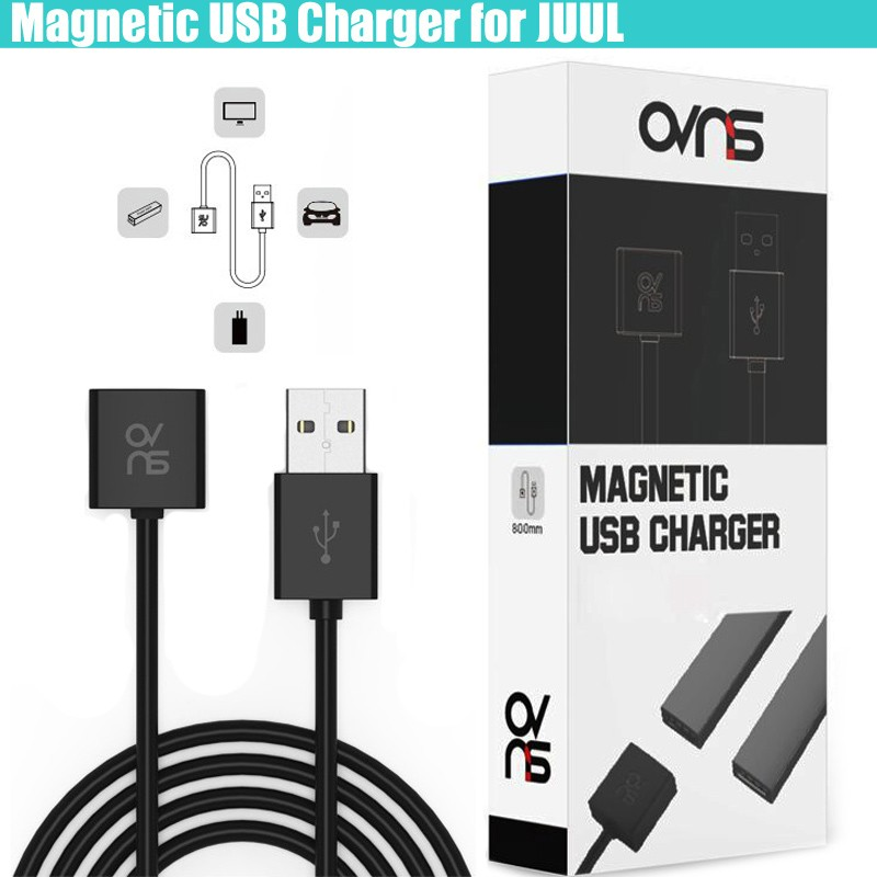 Authentic OVNS Magnetic USB Charger for Juul Pod Kit