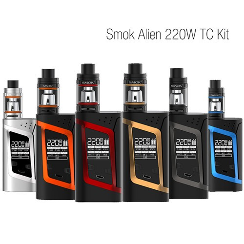 SMOK Alien 220W Starter Kit with Alien TC MOD 3ml TFV8 Baby Beast Tank