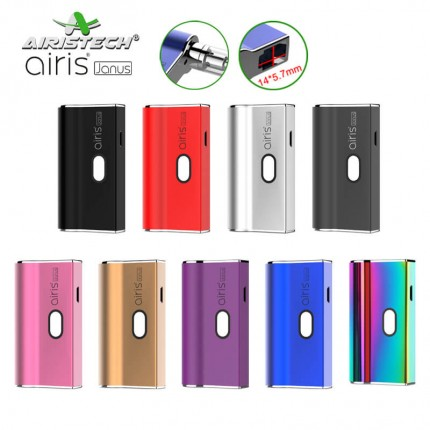 Airis Janus CBD THC 510 Cartirdges & JUUL Pods 2in1 Airistech Vapes Mod Battery