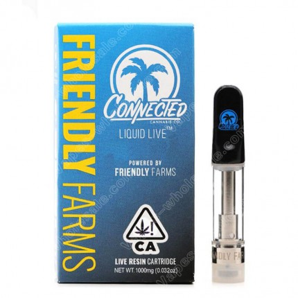 Friendly Farms Carts X Alien Labs Connected True Full Spectrum Cured Resin Vape Cartridges