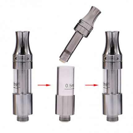 Original iTsuwa Amigo Liberty V9 Tank Vertical Ceramic coils airflow CBD THC Hemp Oil Cartridges 510 Thick O pen BUD CO2 Vaporizer