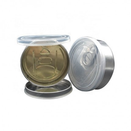 Smartbud Empty Tin Cans 65*27mm 3.5Gram Smart BUD Cart Organic Cannabis Pre Sealed Lid Can