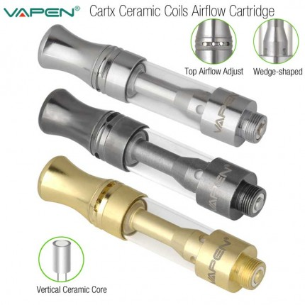 2018 Newest Authentic VAPEN Cartx Tank Ceramic Coils CBD THC Hemp Cartridges