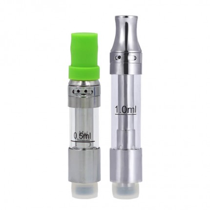 iTsuwa Amigo Liberty V9 Tank Ceramic Coils Top Airflow CBD THC Hemp Oil Cartridges 510 Vape Pen