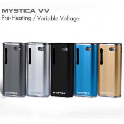 Airistech Mystica Voltage Variable VV Pre Heat CBD Cartridge V11 Box Mod