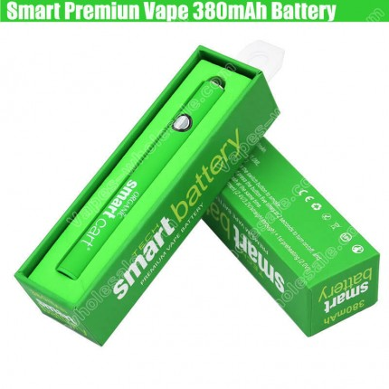 Smart Cart Organic Premium Vape Cartridges 380mAh Preheat vv Battery