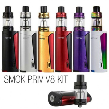 SMOK Priv V8 Kit with Priv V8 Mod 3.0ml TFV8 Baby Beast Tank SMOKTech Starter Kits