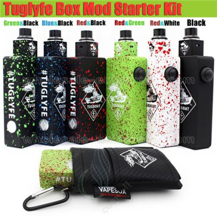 Tuglyfe Unregulated Box Mod Kits Tugboat mods vapor