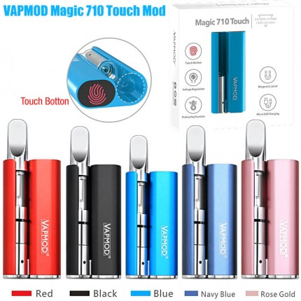 VAPMOD Magic 710 Touch Power Switch Preheat CBD THC Cartridges MOD Battery Vaporizer Kits