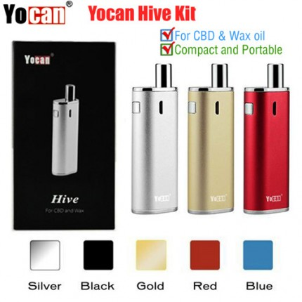 Yocan Hive 2in1 Wax & CBD Hemp Oil Connecter Vape Pen Vaporizer Kit