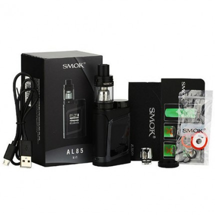SMOK AL85 Kit With 85W Alien AL85 Mini Mod 3ml TFV8 Baby Tank Adjustable Airflow System Starter Kit