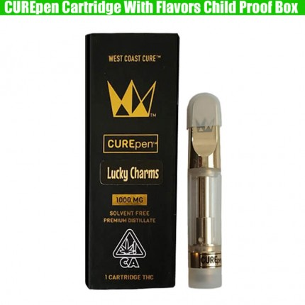 Curepen 1 Cartridges Gold CCELL Th210 Th205 West Coast Cure Vape Pen THC Carts