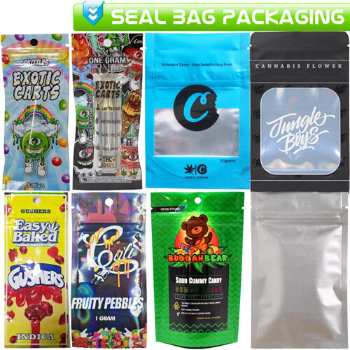 Cartridges Pods Seal Bags