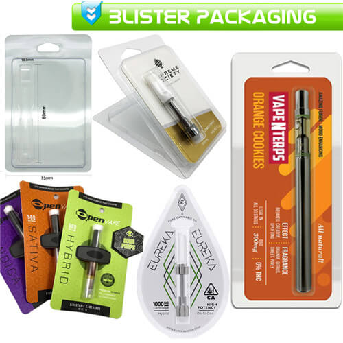 CBD Cartridges Pods Blister Packaging