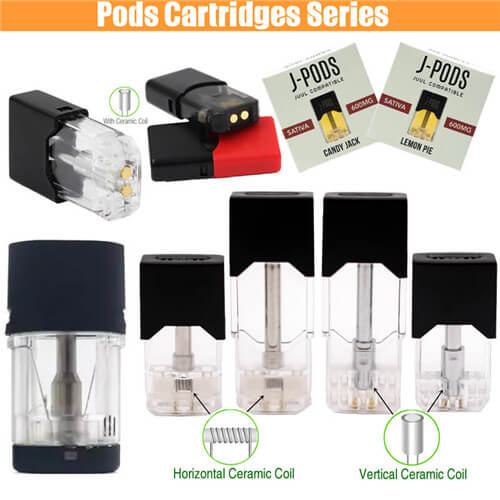 Pods Vapes CBD THC Cartridges