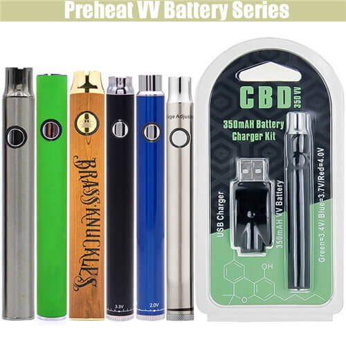Preheat VV BUD CBD THC Battery